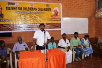 Training for Children on Child Rights and Redressal Mechanisms