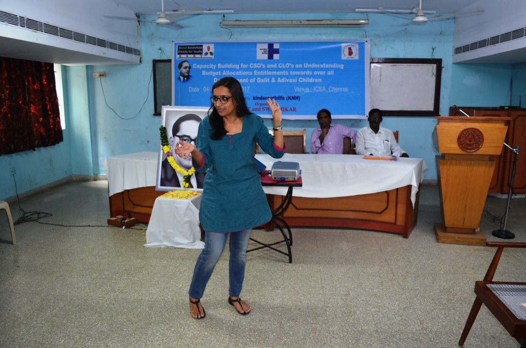 Capacity Building Training to CSOs and CLOs on Understanding Budget Allocation for Children-6