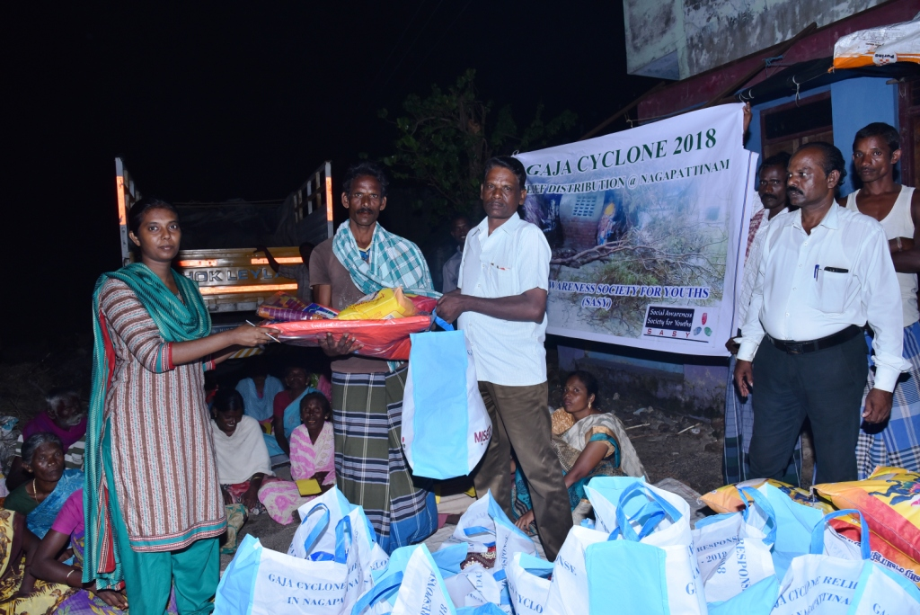 GAJA CYCLONE – Humanitarian Response-38
