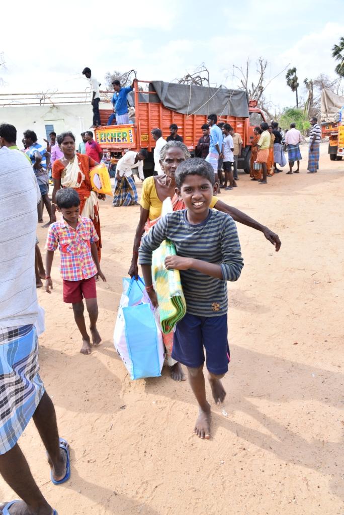 GAJA CYCLONE – Humanitarian Response-27