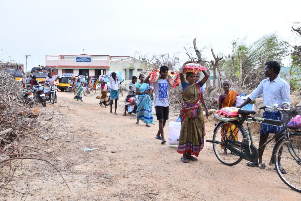 GAJA CYCLONE – Humanitarian Response-31