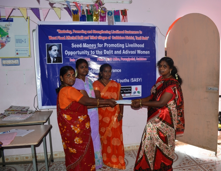 Seed Money for Promoting for Livelihood opportunity to the Dalit & Adivasi Women-5