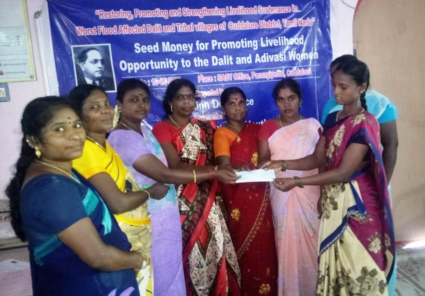 Seed Money for Promoting for Livelihood opportunity to the Dalit & Adivasi Women-8