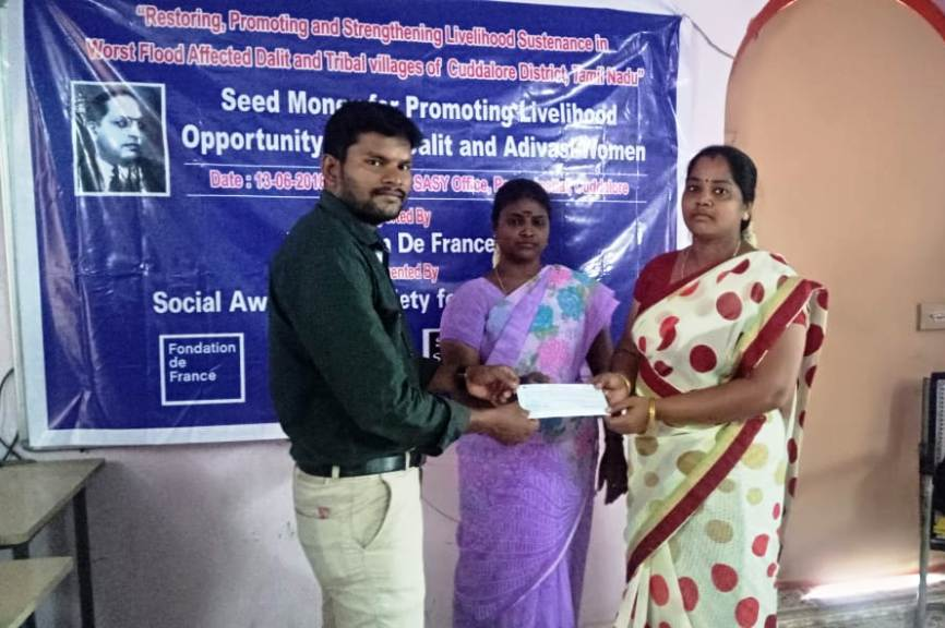 Seed Money for Promoting for Livelihood opportunity to the Dalit & Adivasi Women-9