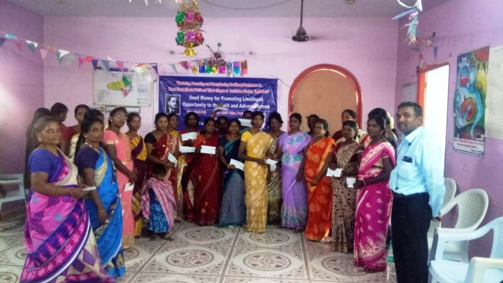 Seed Money for Promoting for Livelihood opportunity to the Dalit & Adivasi Women-10