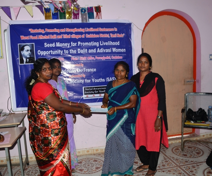 Seed Money for Promoting for Livelihood opportunity to the Dalit & Adivasi Women-7