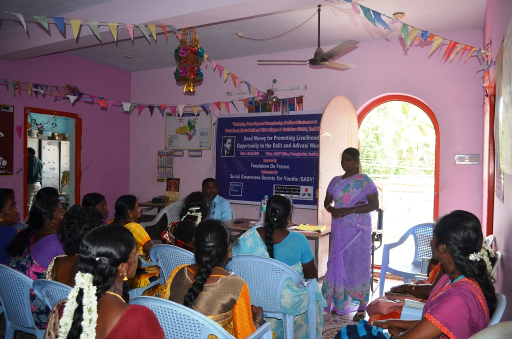 Seed Money for Promoting for Livelihood opportunity to the Dalit & Adivasi Women-3