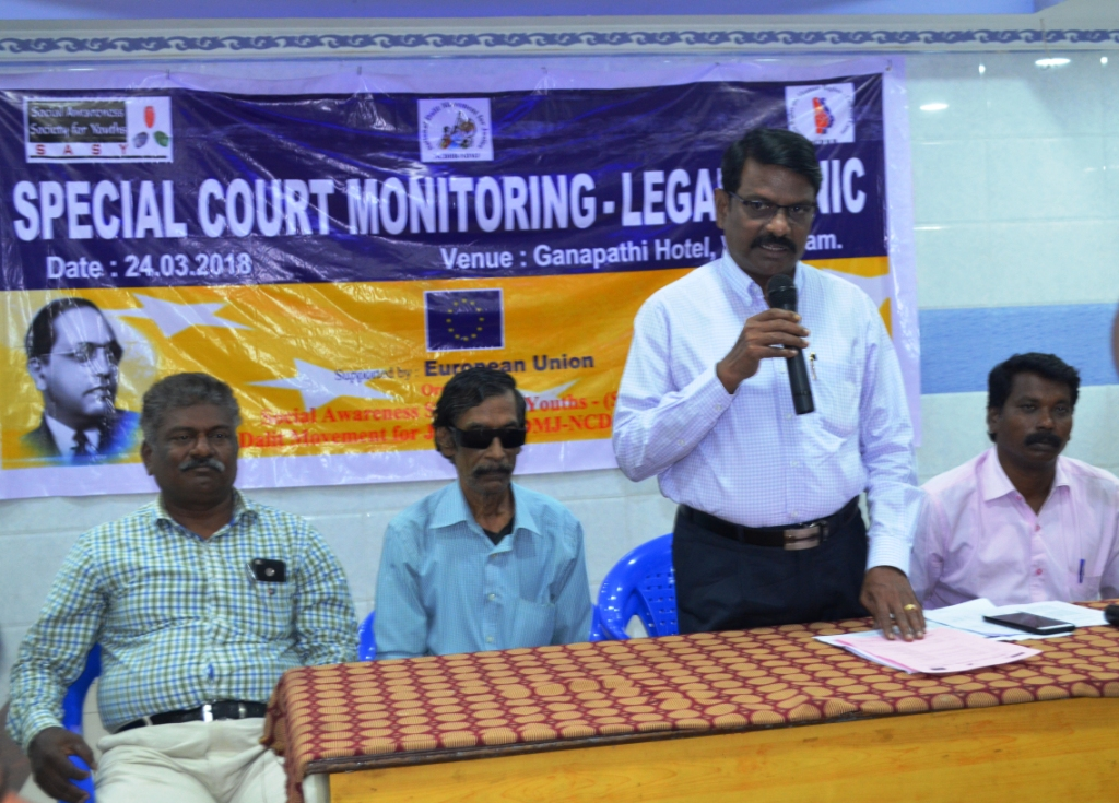 Special Court Monitoring – Legal Clinic on 24th April 2018-7