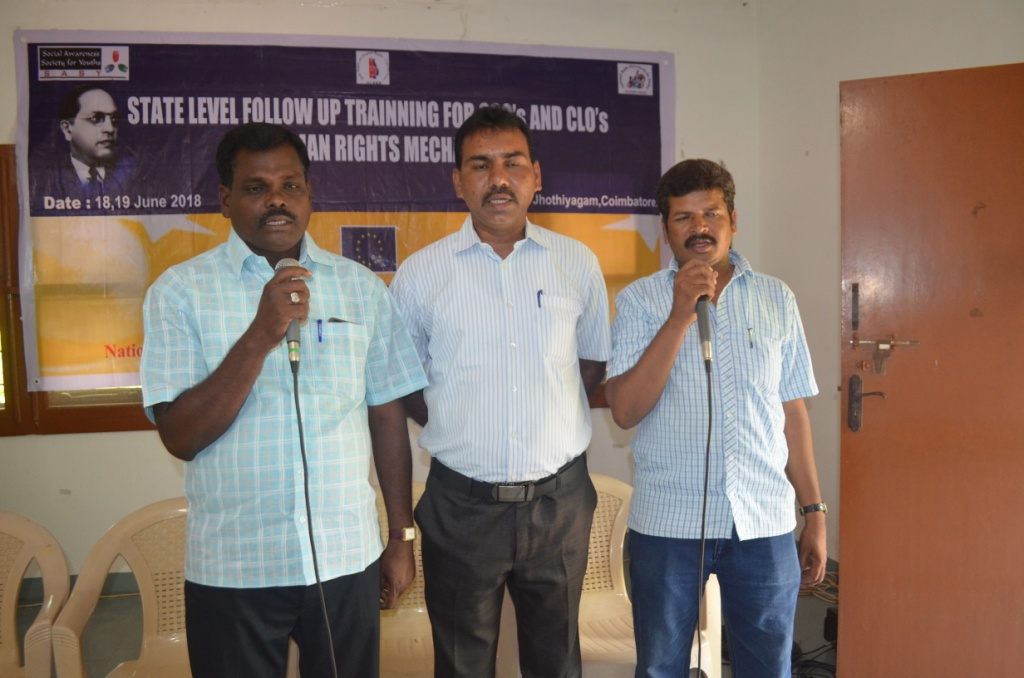 State Level CSOs & CLOs on Human Rights Mechanism on 18th & 19th June 2018-19