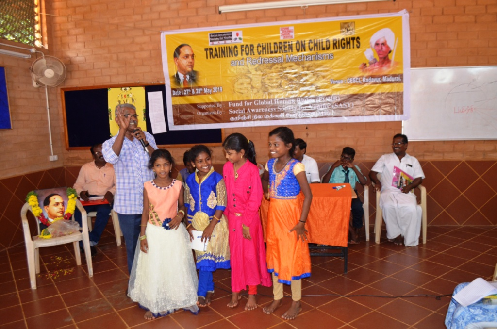Training for Children on Child Rights and Redressal Mechanisms-13