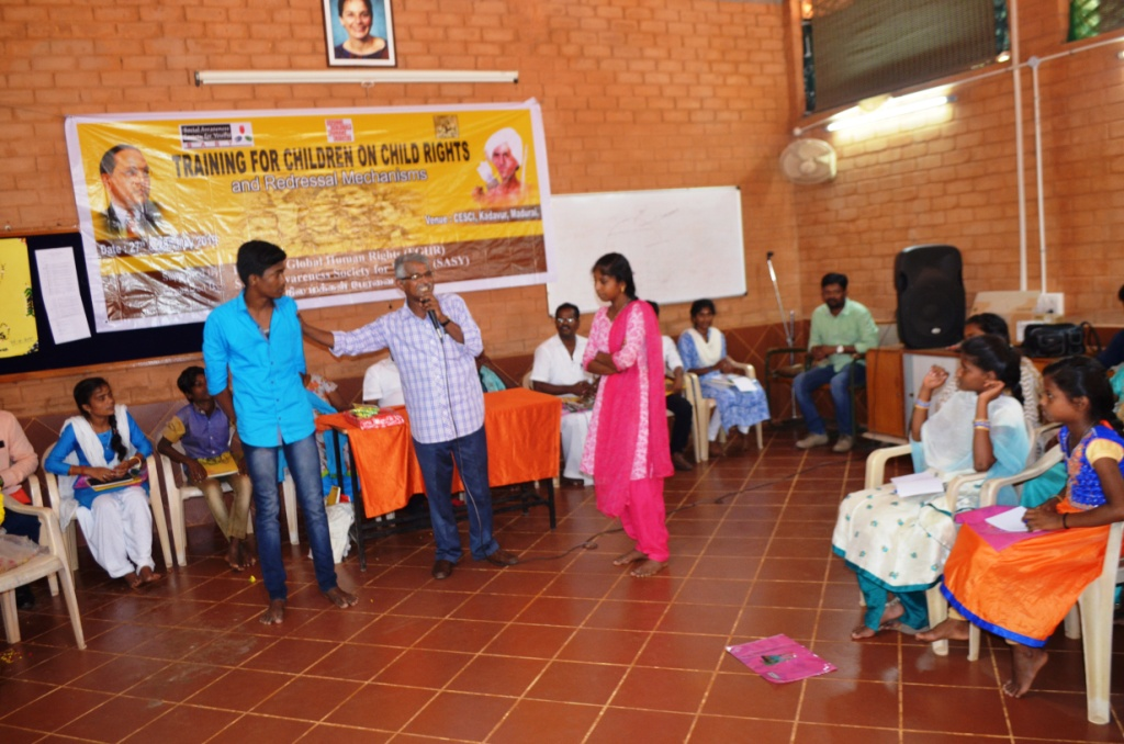 Training for Children on Child Rights and Redressal Mechanisms-12