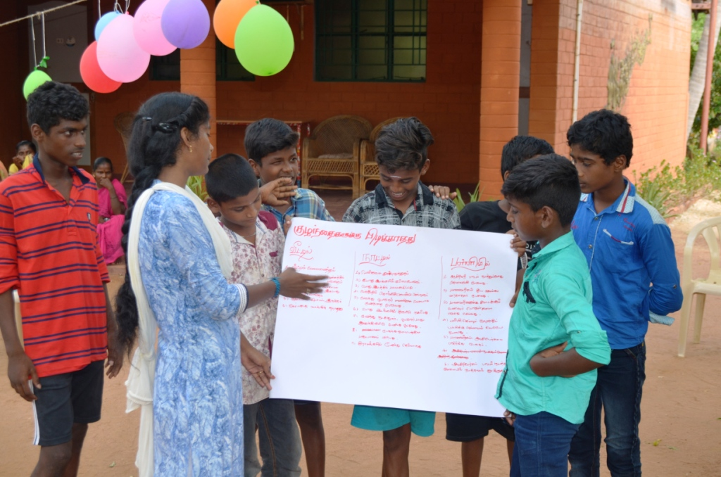 Training for Children on Child Rights and Redressal Mechanisms-39